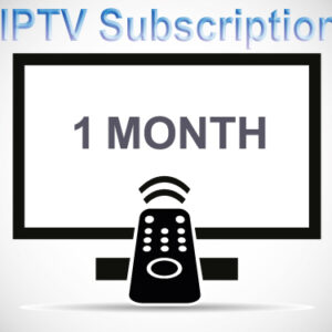 One IPTV Month Subscription